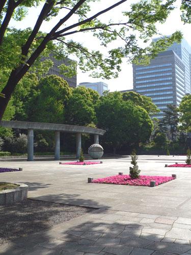 会津藩邸跡