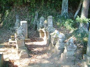 大須賀氏墓所