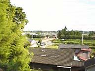 小高城から小高郷を見てます