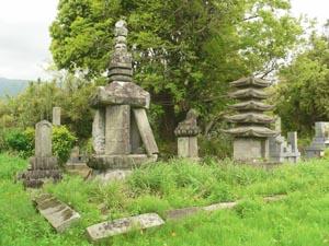 円通寺墓所の千葉家墓所