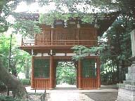 本土寺山門
