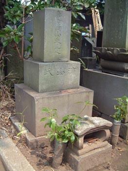 浦山寿貞墓